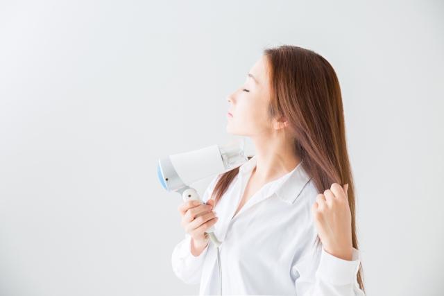 頭皮の臭い対策④髪の毛の乾かし方