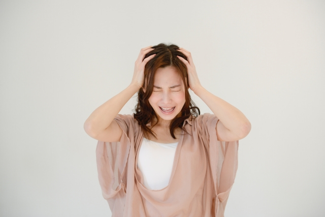 加齢臭を増加させる原因はストレス